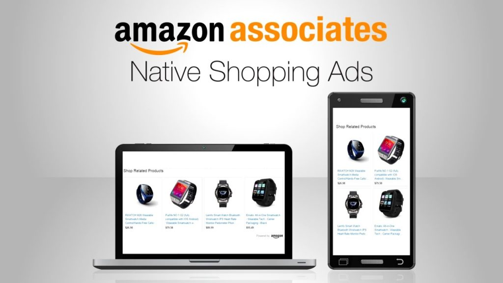 amazon associates native shopping ads