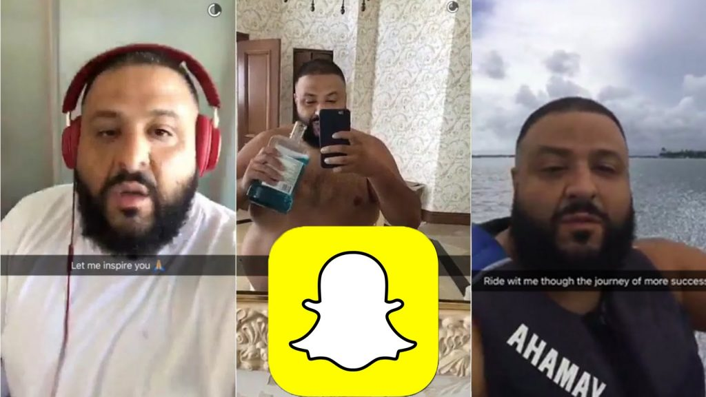 dj khaled on snapchat