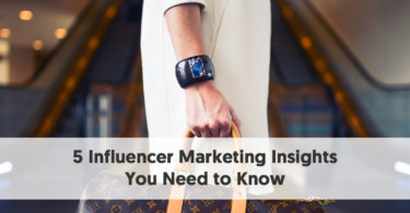 5 Influencer Marketing Insights You Need to Know