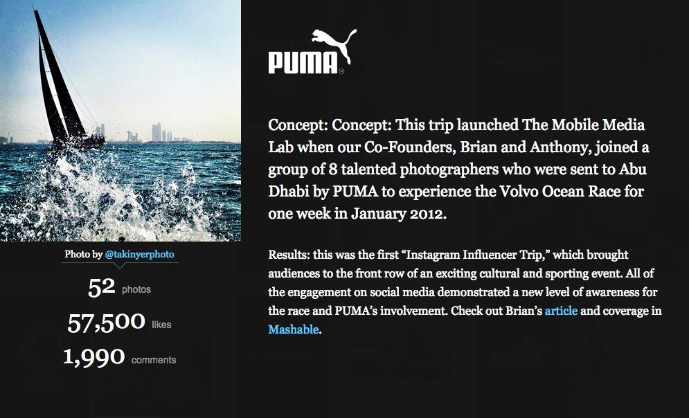 mobilemedialab puma case study
