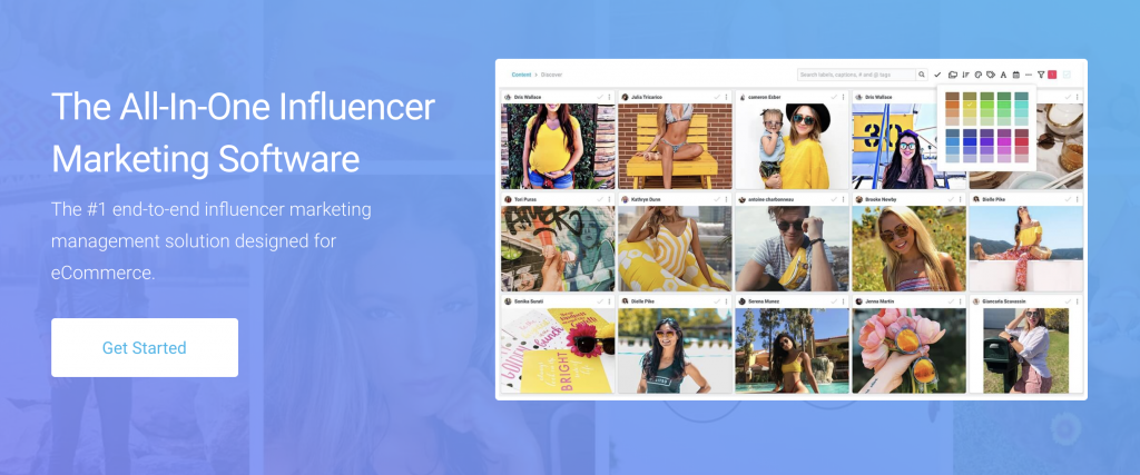 grin all in one influencer software