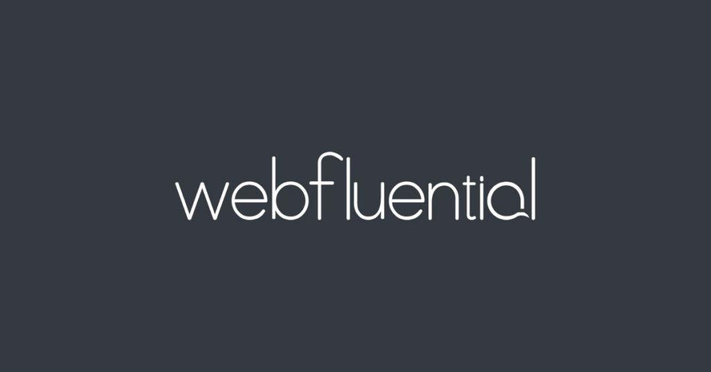 Webfluential logo