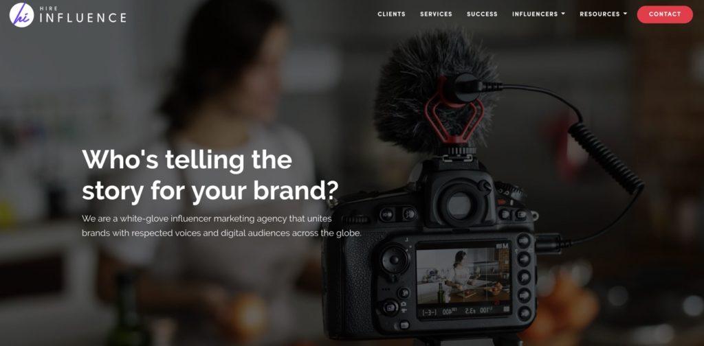 Influencer Marketing Agency USA - HireInfluence