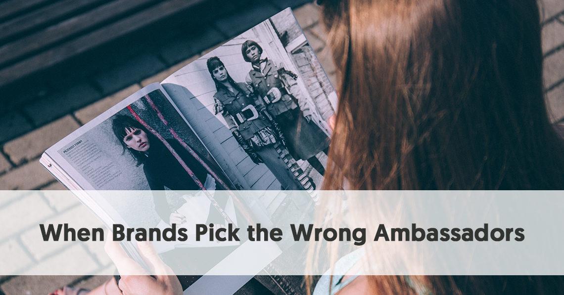 When Brands Pick the Wrong Ambassadors