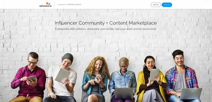 advowire mercato dei contenuti