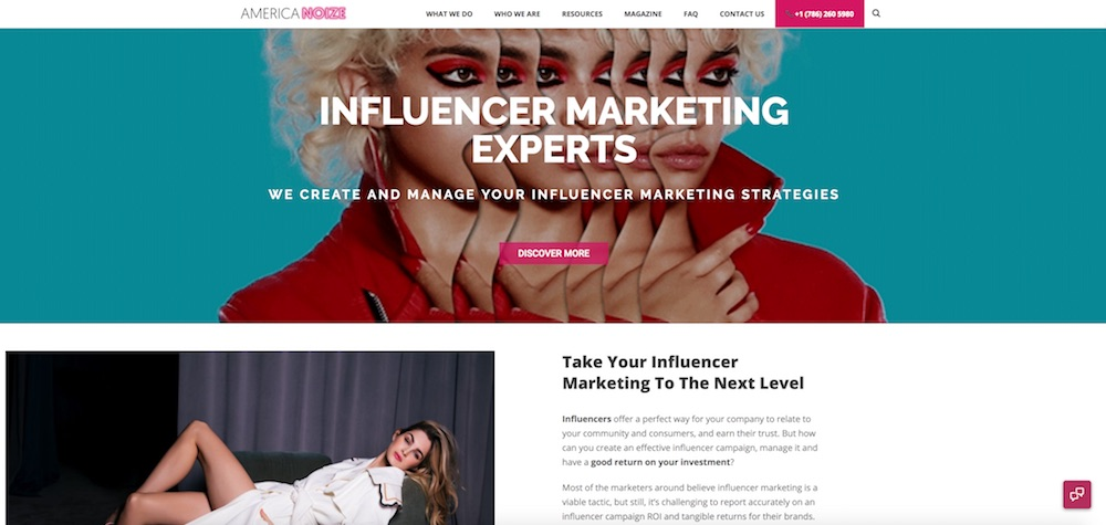 AmericaNoize Influencer Marketing Agency