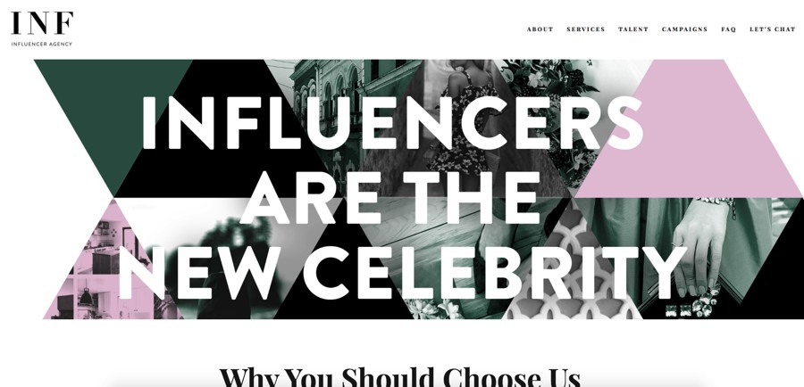 INF Influencer Agency 2021 agencies list