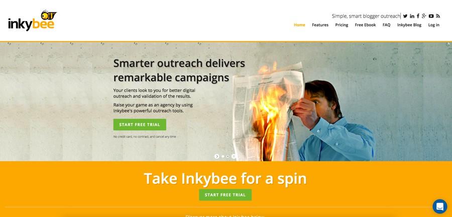 InkyBee influencer marketing platform