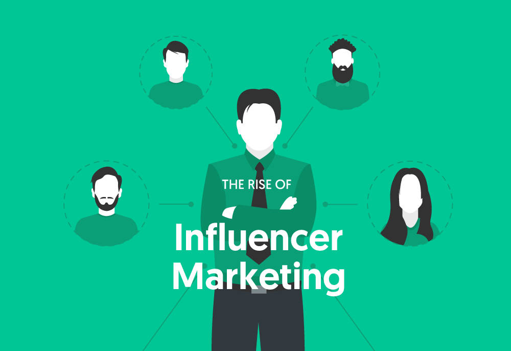 the rise of influencer marketing - infographic