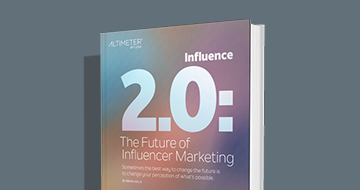 Influence 2.0: The Future of Influencer Marketing