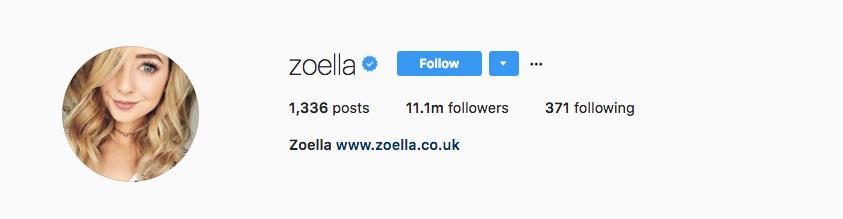 Zoella Zeebo
