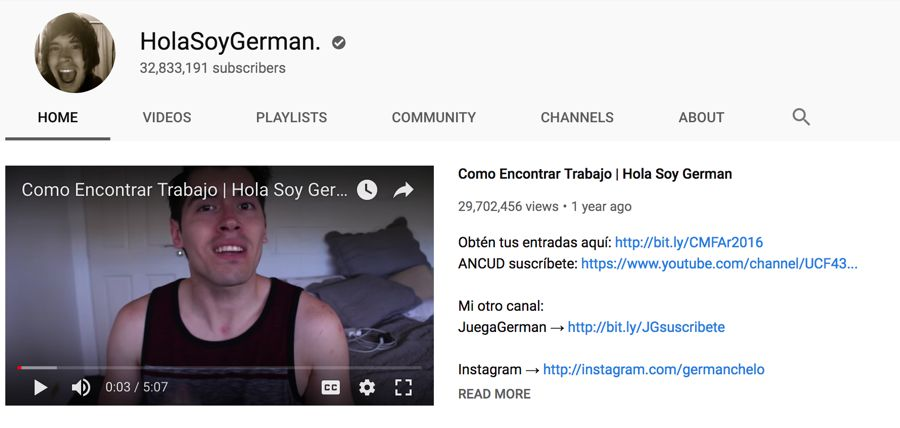 holasoygerman info on youtube