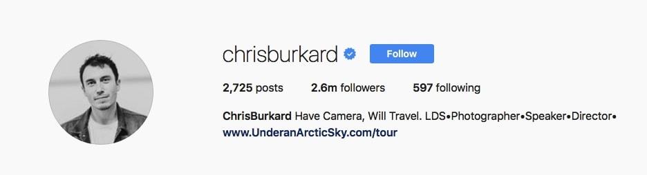 Chris Burkard - @chrisburkard