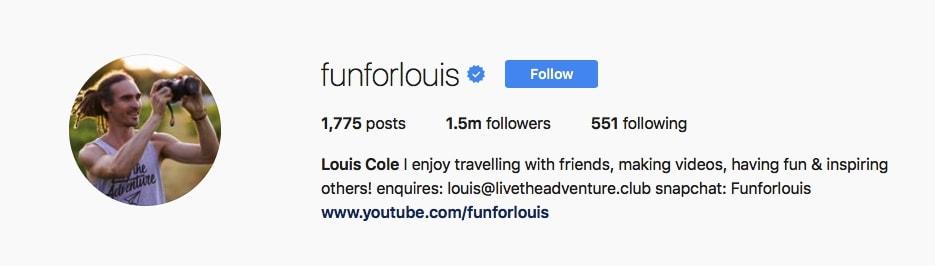 Louis Cole - @funforlouis