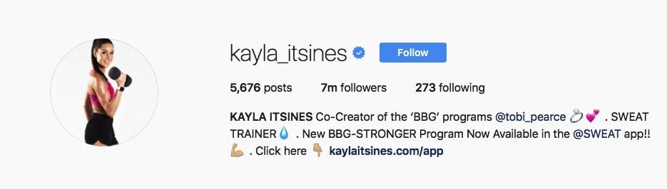 Kayla Itsines - @kayla_itsines