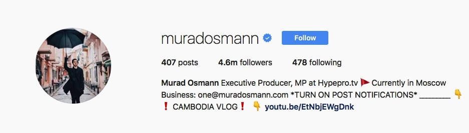 Murad Osmann - @muradosmann