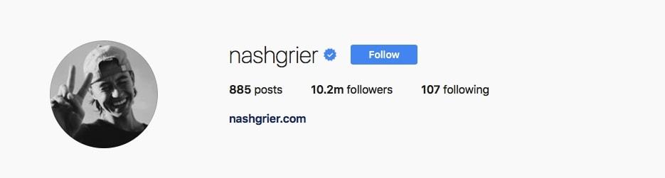 Nash Grier - @nashgrier