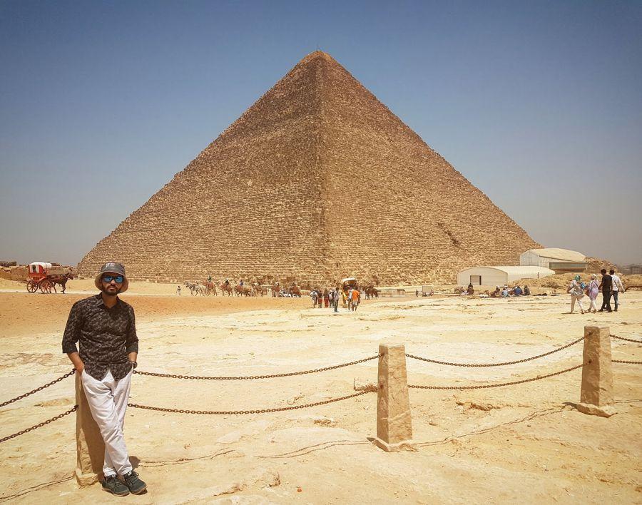 Mahmoud Kamal pyramid