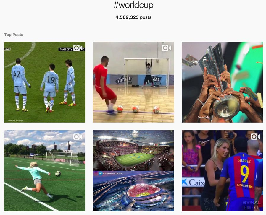 #worldcup top posts on instagram
