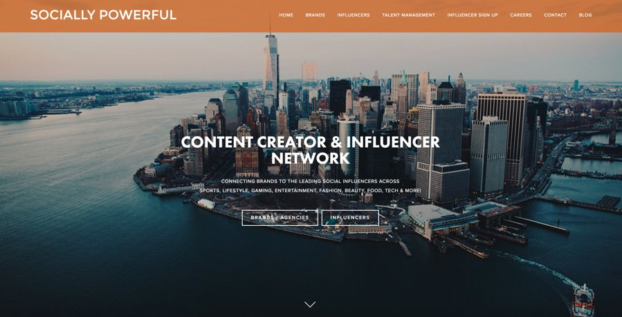 Socially Powerful influencer marketing agency