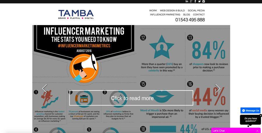 tamba influencer marketing agency