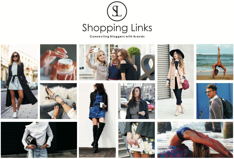 shopping links homepage
