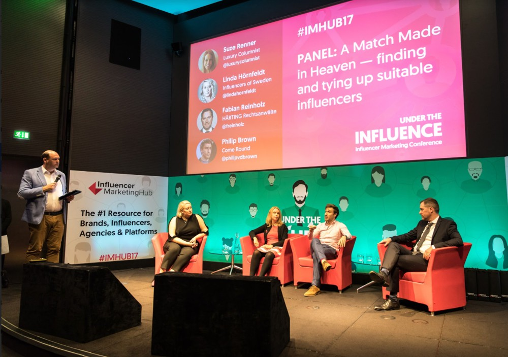panel: a match made in heaven - finding and tying up suitable influencers
