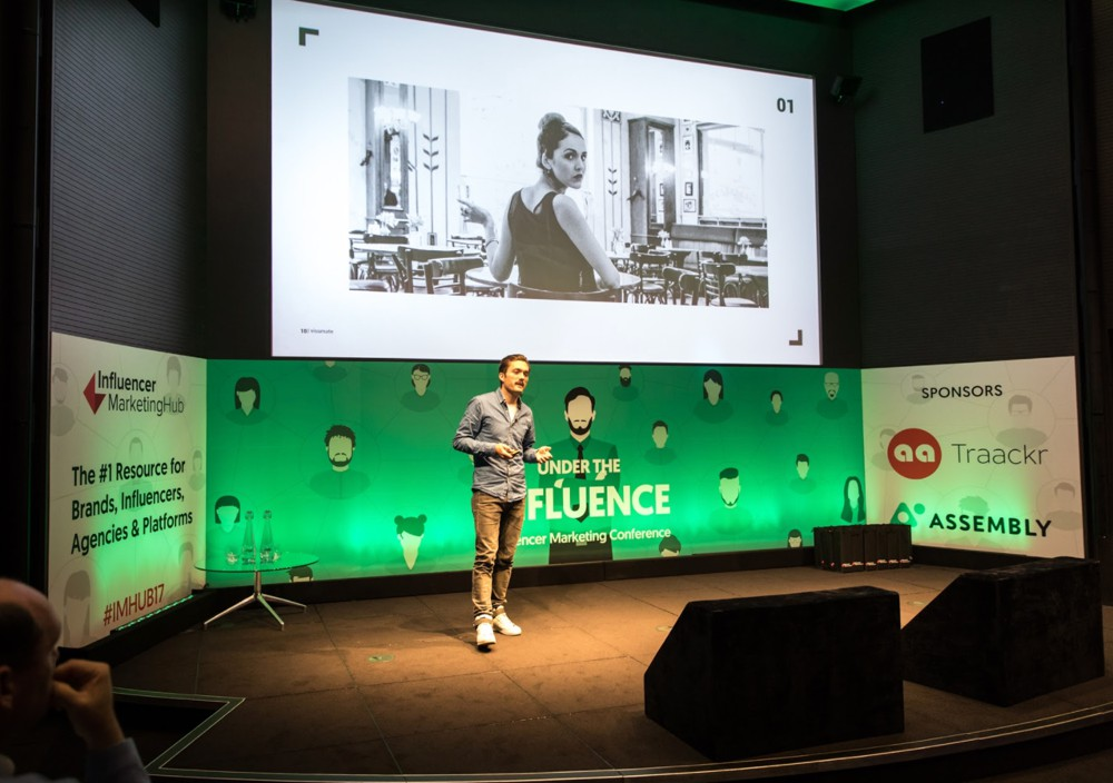 Oliver Bruegmann at Under The Influence - Influencer Marketing Conference