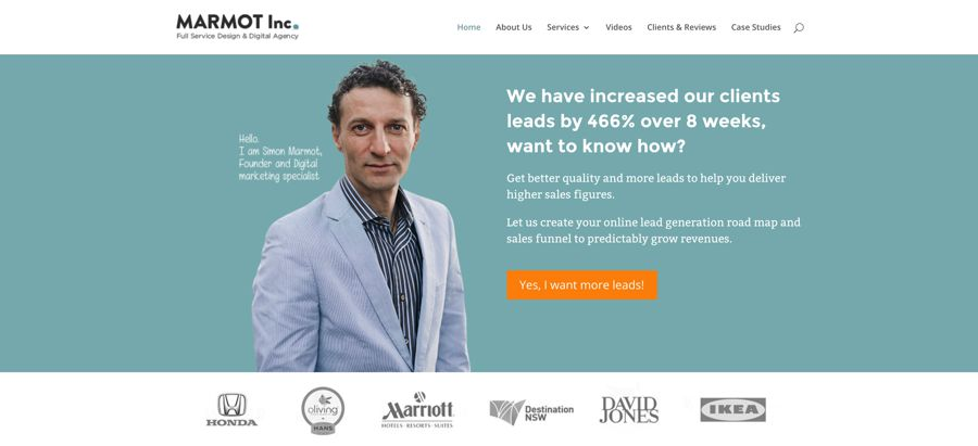 marmot inc agency homepage