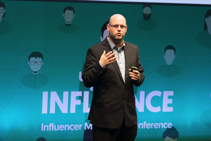 Gil Eyal at Under The Influence - Influencer Marketing Conference