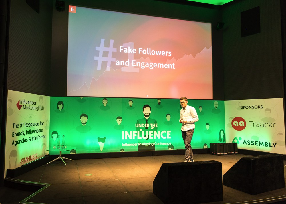 Simon Staib at Under The Influence - Influencer Marketing Conference