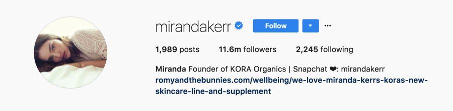 Miranda Kerr - @mirandakerr