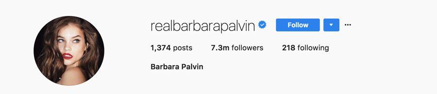 Barbara Palvin - @realbarbarapalvin