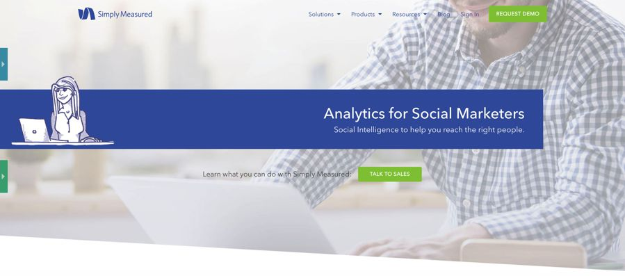 simply measured - Analytics for Social Marketers