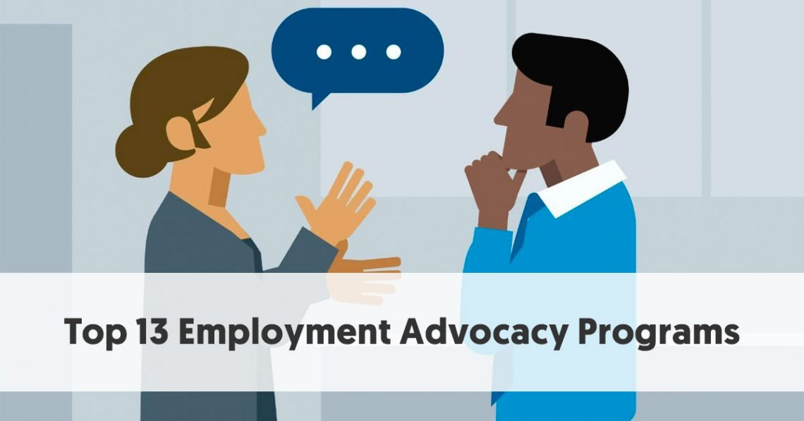 Top 13 Employment Advocacy Programs