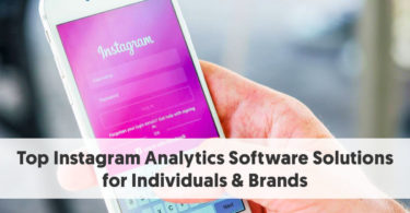Top Instagram Analytics Software Solutions for Individuals & Brands