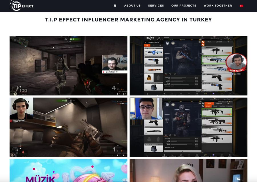 T.I.P. Effect influencer marketing agency