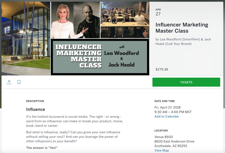 Influencer Marketing Master Class