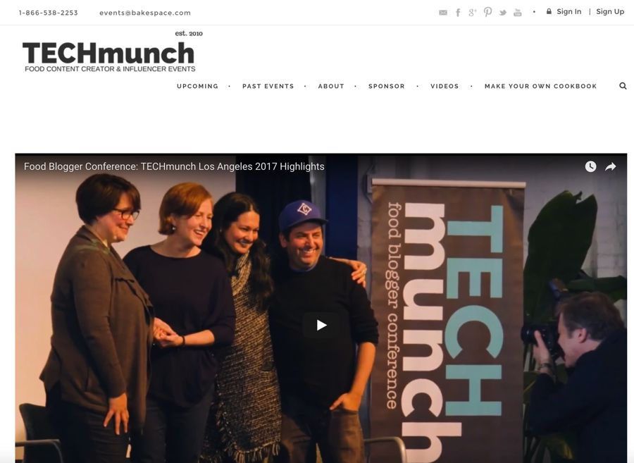 TECHmunch influencer marketing event