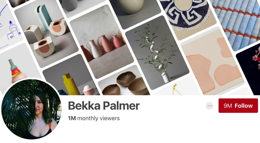 Bekka Palmer pinterest influencer
