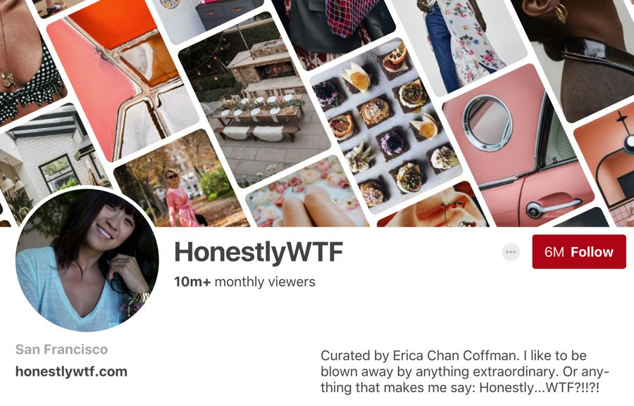 HonestlyWTF pinterest influencer
