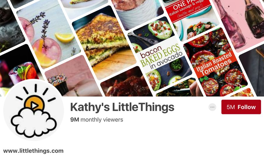 Kathy's LittleThings pinterest influencer
