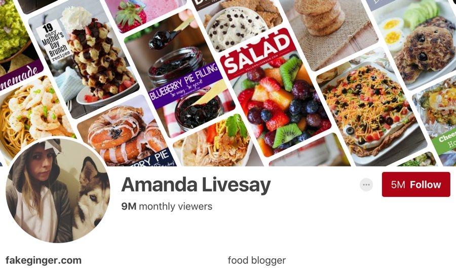 Amanda Livesay pinterest influencer