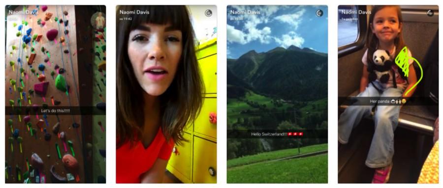 Naomi Davis (@love.taza) snapchat influencer