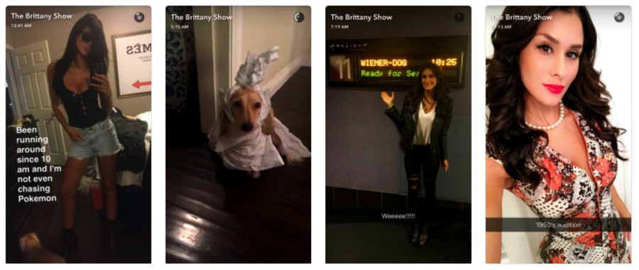 Brittany Furlan (@brittanyfurlan) snapchat influencer
