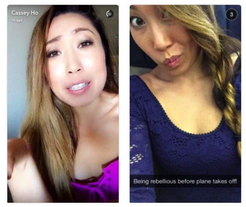 Cassey Ho (@blogilates) snapchat influencer
