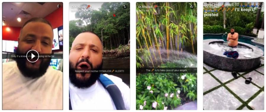 DJ Khaled (@djkhaled) snapchat influencer