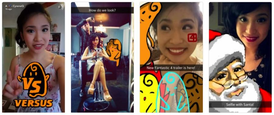 Cyrene Quiamco (@CyreneQ) snapchat influencer