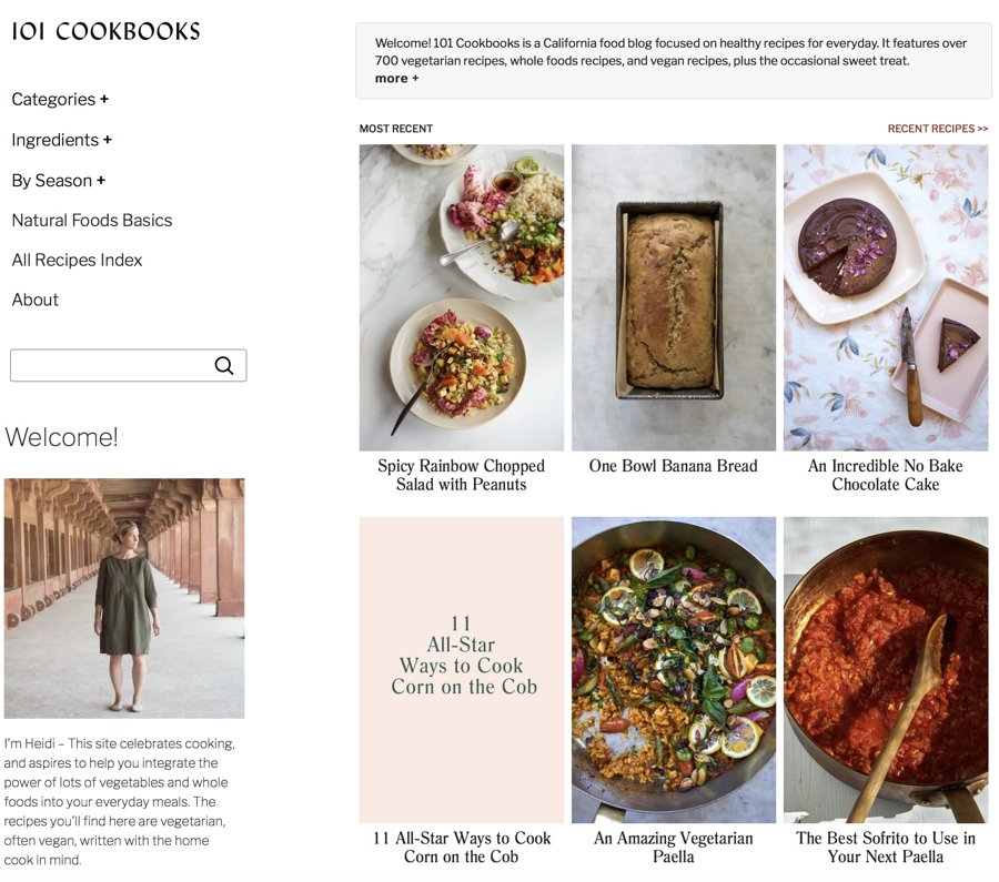 101 cookbooks