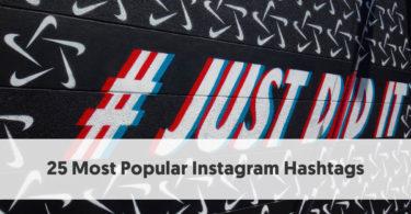 25 Most Popular Instagram Hashtags